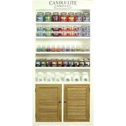 Candle-lite Paulownia Small display shelves 85 cm