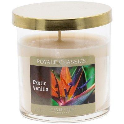 Candle-lite Revere House Jar Glass Candle With Lid 23 oz duża świeca zapachowa w szklanym słoju 185/100 mm 652 g ~ 120 h - Apple Pie
