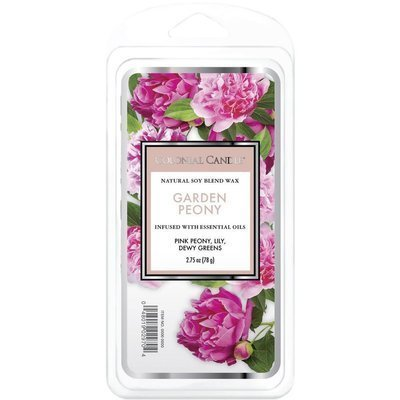 Colonial Candle Classic soy wax melt 6 cubes 2.75 oz 77 g - Garden Peony