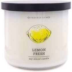 Colonial Candle Luxe large soy scented candle 3 wicks 14.5 oz 411 g - Lemon Fresh