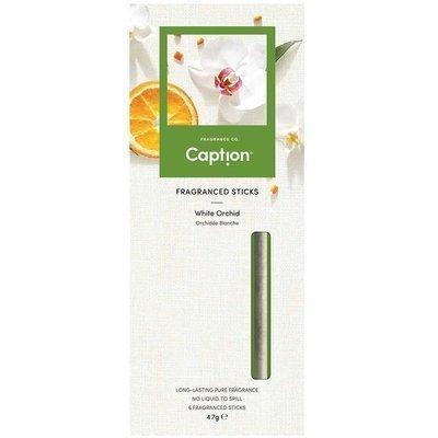 Enviroscent Caption fragrance diffuser sticks 6 pcs - White Orchid