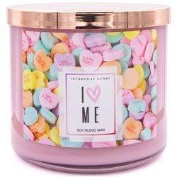 Colonial Candle Luxe sojowa świeca zapachowa w szkle 3 knoty 14.5 oz 411 g - I Love Me