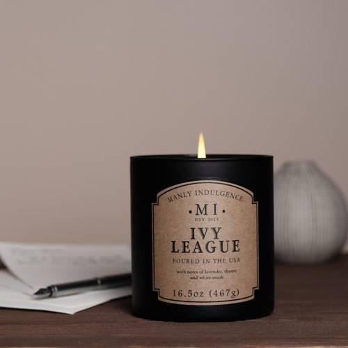 Colonial Candle sojowa świeca zapachowa w szkle 16.5 oz 467 g - Ivy League