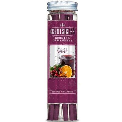 Enviroscent Scentsicles Scented Ornaments patyczki zapachowe na choinkę 6 szt - Mulled Wine